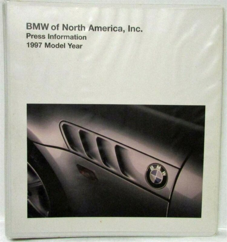 1997 BMW Full Line Press Kit - Z-3 3 5 7 and 8 Series