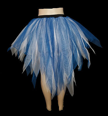 Peacock Tutu Skirt (Uv 7 Layers Trashy Tutu Petticoat Skirt Peacock ClubParty Christmas)