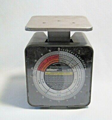 Pelouze Postage Table Scale Model No. K5 5 Pound Capacity 1999 Usps Rates