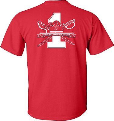 Usmc United States Marine Corps   1St Battalion Mcrd Parris Island T Shirt