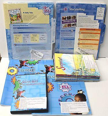 Gear Up,Ell Fluency Kit: Grade 2-3 Guided Reading,ELL Lesson Plans,DVD,Books (1) Guided Reading Lesson Plans