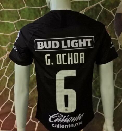 LIGA MX CLUB AMERICA #06 OCHOA BLACK JERSEY 2019/2020