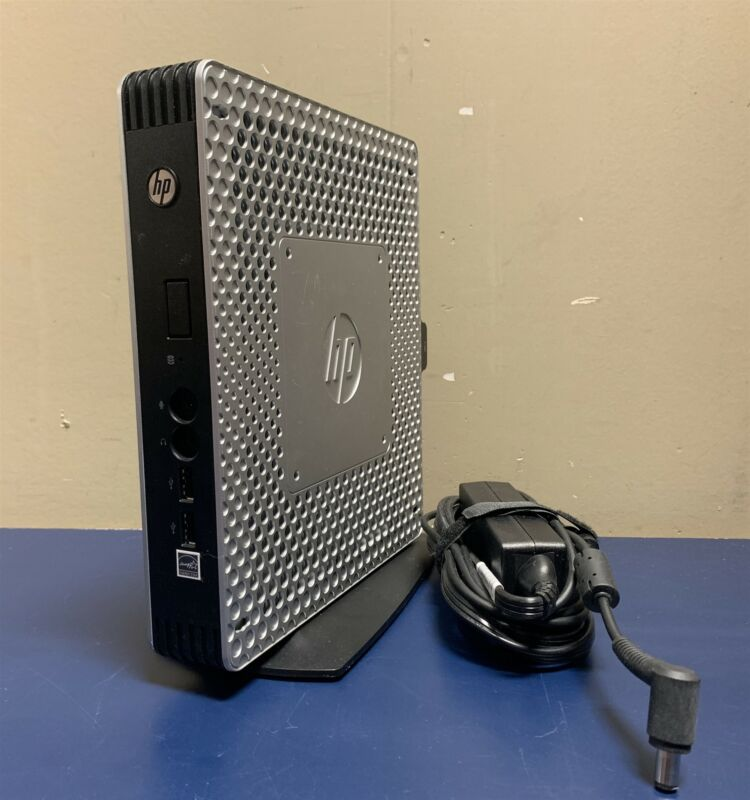 HP T610 Thin Client C1C06UA w/ AC Adapter & Stand | AMD 1.66GHz | 4GB - No SSD