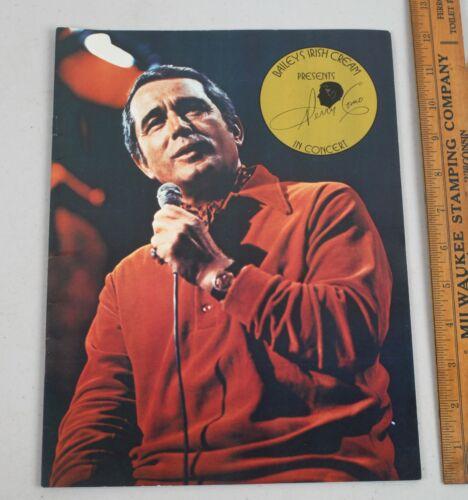 1984 Perry Como Souvenir Concert Tour Program Book