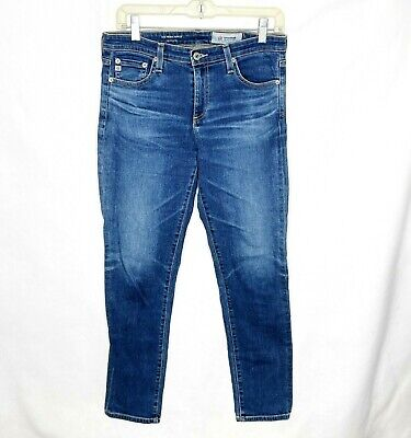 AG-ED Adriano Goldschmied The Prima Ankle Cigarette Ankle Denim Jeans Size 28