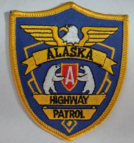 Alaska Highway Patrol Retro Patch (Hat Size) // FREE US SHIPPING!