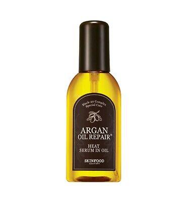 SKINFOOD Argan Oil Repair Plus Heat Serum In Oil 100ml - Korea Cosmetic