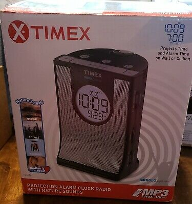 Timex Projection Alarm Clock with Nature Sounds
