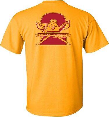 Usmc United States Marine Corps   2Nd Battalion Mcrd Parris Island  Sc T Shirt