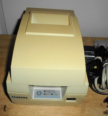 Samsung Srp-270cp Dot Matrix Pos Receipt Printer - Parallel Port - Autocut
