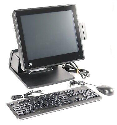 Hp Rp7 7800 Retail Pos System 15 Touchscreen Celeron G540 2.5ghz 4gb 500gb Ssd