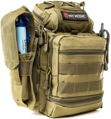 NEW My Medic The Recon Basic Emergency First Aid Kit Coyote