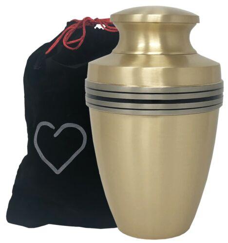 Momentful Life Revere Bronze Adult Urn - Bronze Cremation Urn