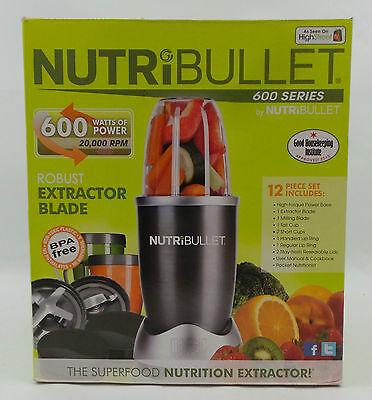 NutriBullet 600W Juicer Blender Nutrition Extractor-12 PCS SET