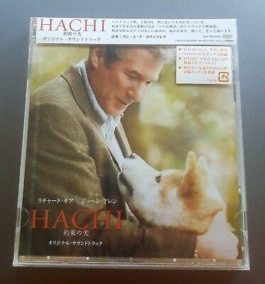 Hachi a dog's tale by Jan A.P. Kaczmarek. Japanese soundtrack cd. New.