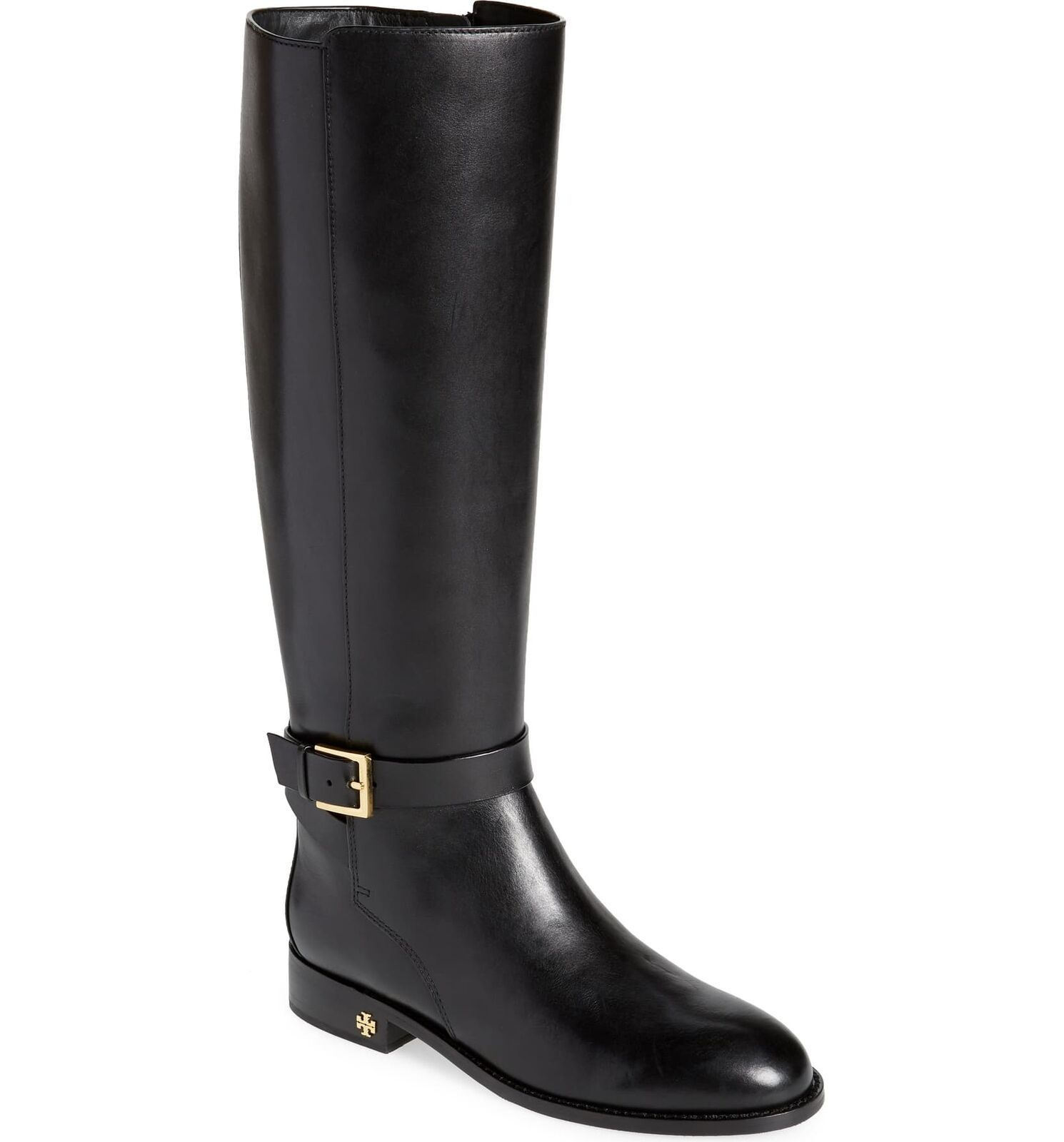 Tory Burch Women's Brooke 25MM Leather Knee High Riding Boot
