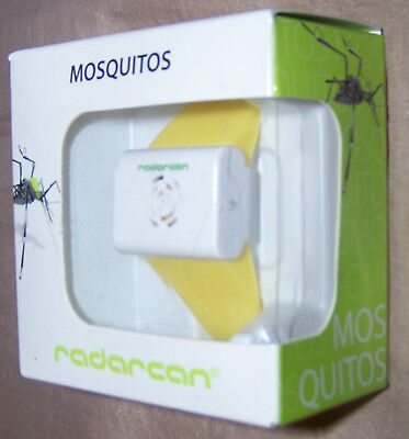 BRAND NEW Radarcan Portable Mosquito Repeller R-101 Yellow Band