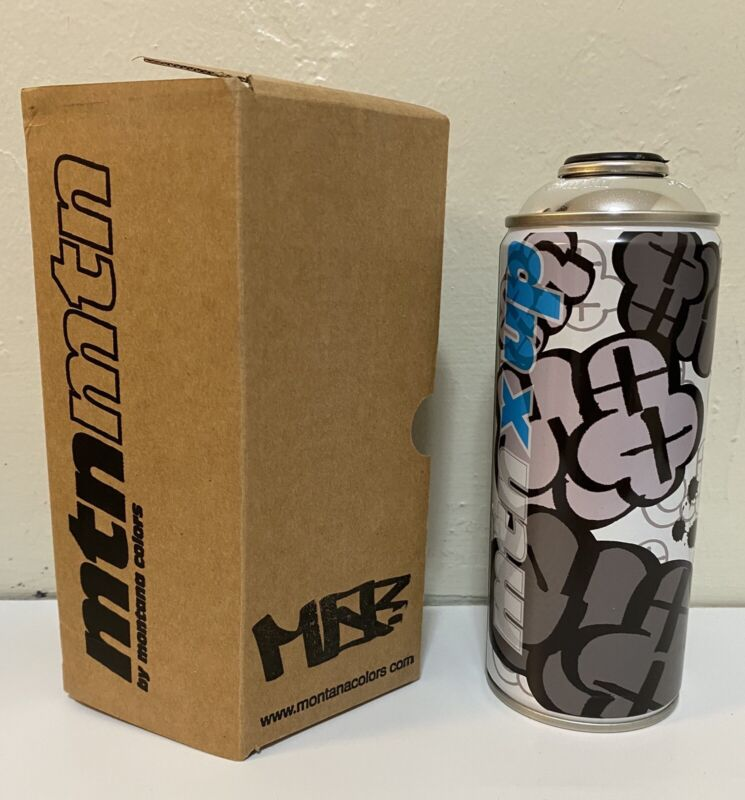 MQ MQUE MKUE Limited Edition MTN Montana Spray Paint Can Seventh Letter NEW
