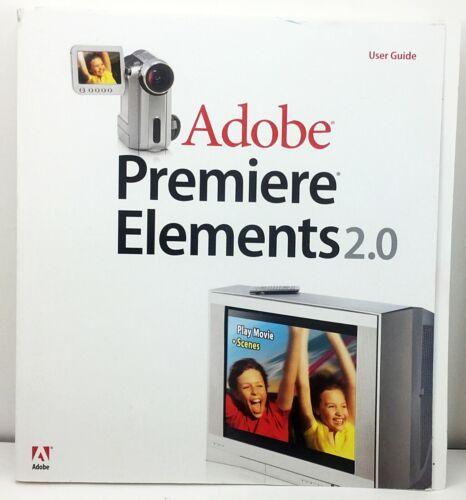 Adobe Premiere Elements 2.0 User Guide