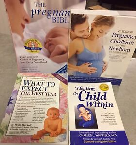 (4) Great Pregnancy Books! Plus 1 free book included! 5 total*