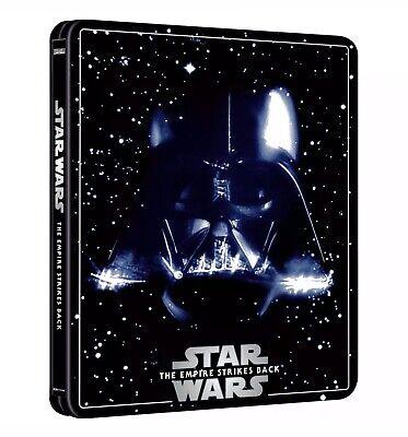 Star Wars Episode V The Empire Strikes Back (4K Ultra HD Steelbook) *PRE ORDER*