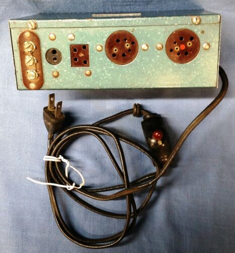 ELECTRO Model P - tube radio battery eliminator to RESTORE or for PARTS