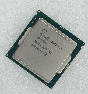 Intel Core i5-6600K Desktop Processor LGA1151 CM8066201920300 91W 14nm GEN9