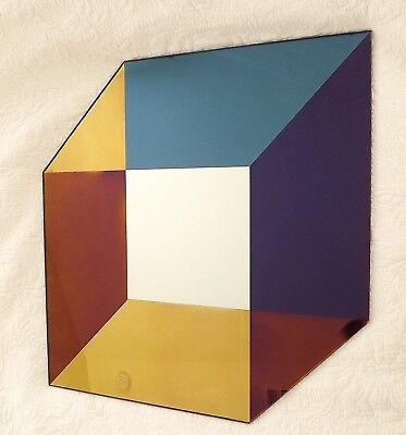 Lex Pott & David Derksen Geometric Contemporary Art Glass Transience - Art Glass Contemporary Mirror