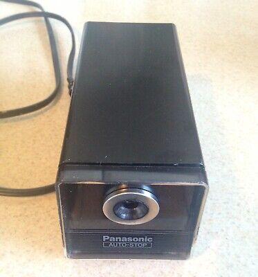 Vintage Panasonic Electric Pencil Sharpener Auto Stop Kp-120