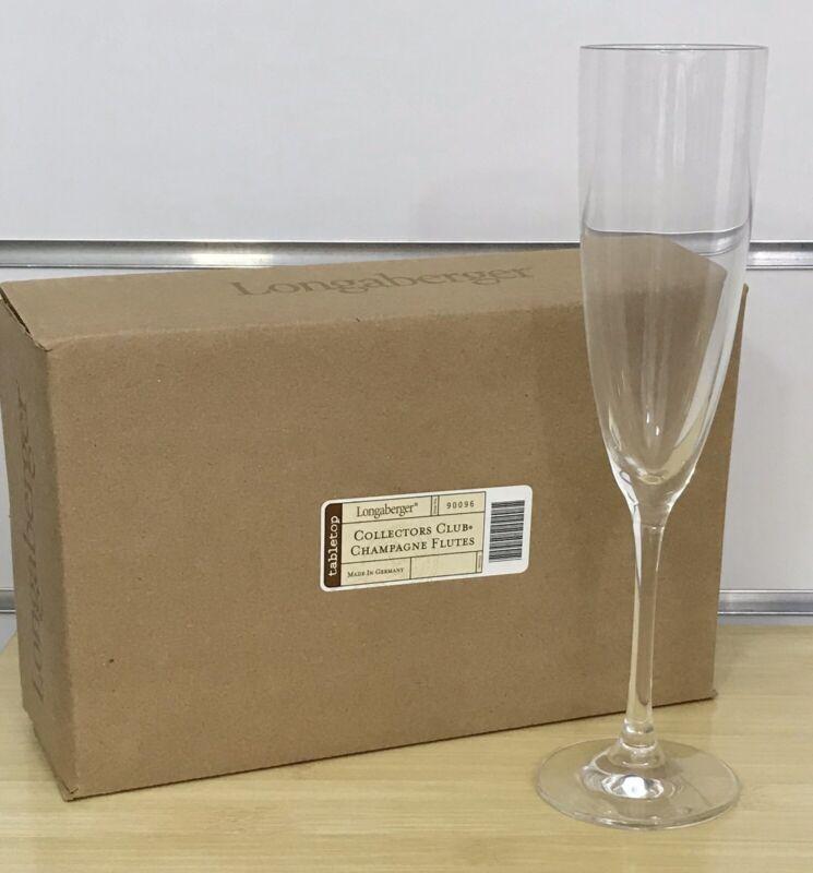 Longaberger Collectors Club Champagne Flute
