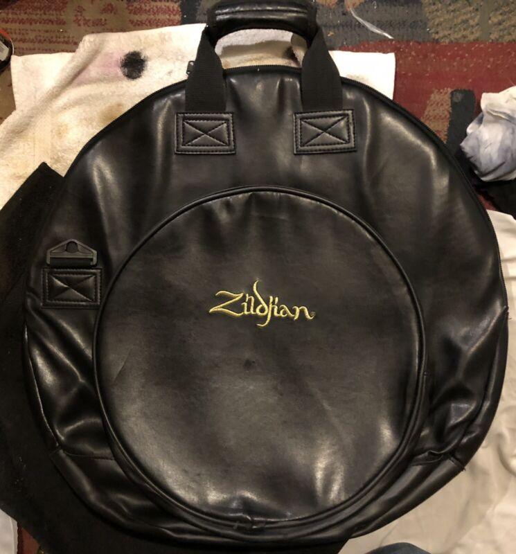 Zildjian Vintage Black Vegan Leather Cymbal Bag 80'/90's