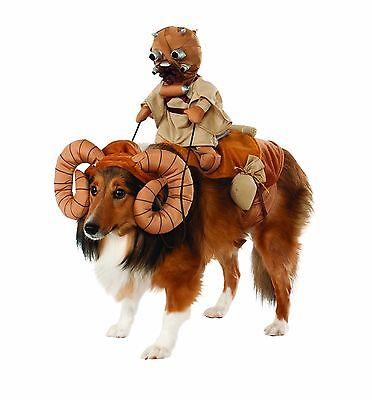 Star Wars Dog Halloween Costumes (Rubies Star Wars Bantha Fodder Tatooine Pet Dog Halloween Costume)