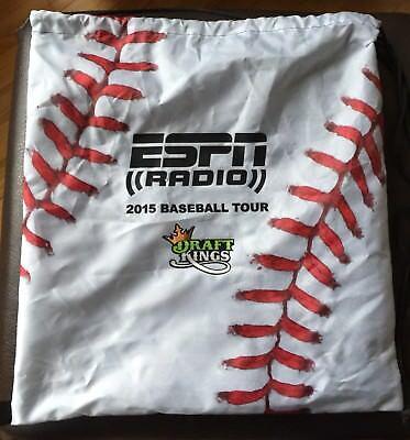 Espn Radio 2015 Baseball Tour Bag Draftkings Opening Day Spring Training Mlb