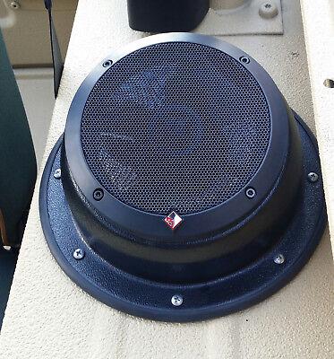 """RV WFL ANGLED SPEAKER MOUNT 6.5"""" 6 1/2"""" house boat mounted speaker pods TRAILER"""