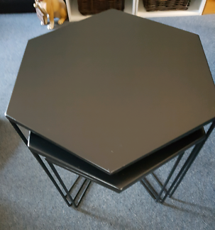 SET OF 3 COFFEE TABLES