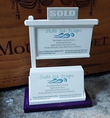 Real Estate Business Card Display-business Card Displaybusiness Card Holder