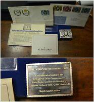 Lingotto Argento 73 Silver Jubilee Post Office 1952 1977 Danbury Mint -  - ebay.it