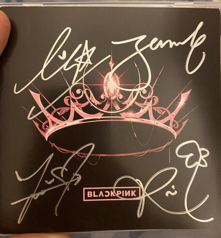 blackPink signed cd