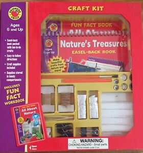 BRIGHTER CHILD  CRAFT KITS / NATURES TREASURES & LEARN SHAPES