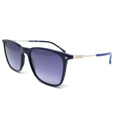 LACOSTE Sunglasses L870S 424 Blue Modified Rectangle Men's (Lacoste Men's Sunglasses)