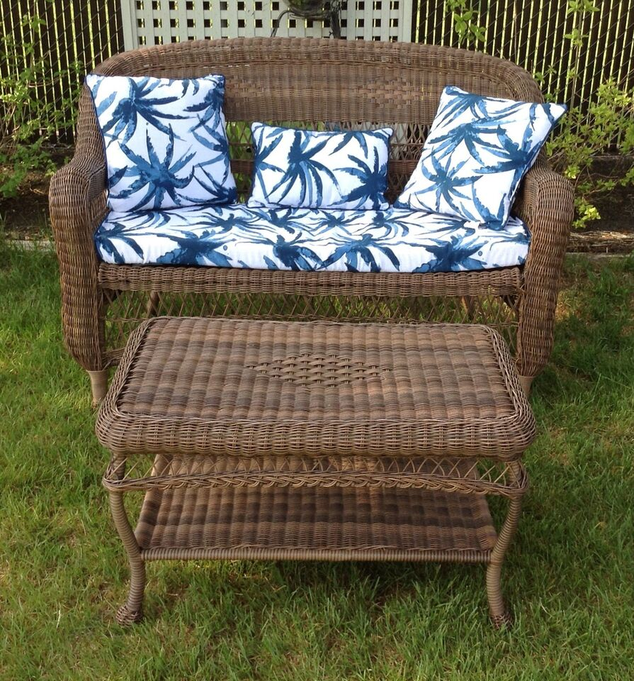 loveseat cushions with outdoor wicker reviews pdx classics tk wayfair manhattan