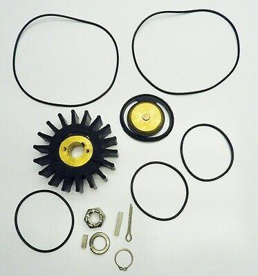 Water Pump Impeller Kit Boat Ship Yacht *Missing Seal*lUnknown Fitment