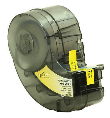 Brady Xps-250-1 Wire Marking Sleeves 1pkg Idxpert Permasleeve Polyolefin