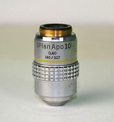 Olympus S Plan Apo 10 0.40 1600.17 Microscope Objective