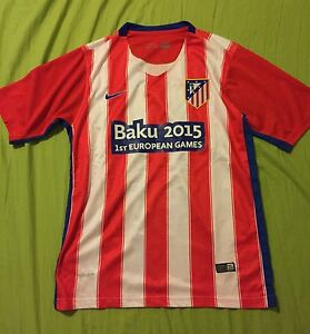 Original Authentic Men's/Boy's Atletico Madrid Soccer Jersey