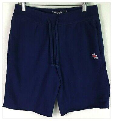 Abercrombie & Fitch Men's Sweat Shorts Blue Size XS Athletic