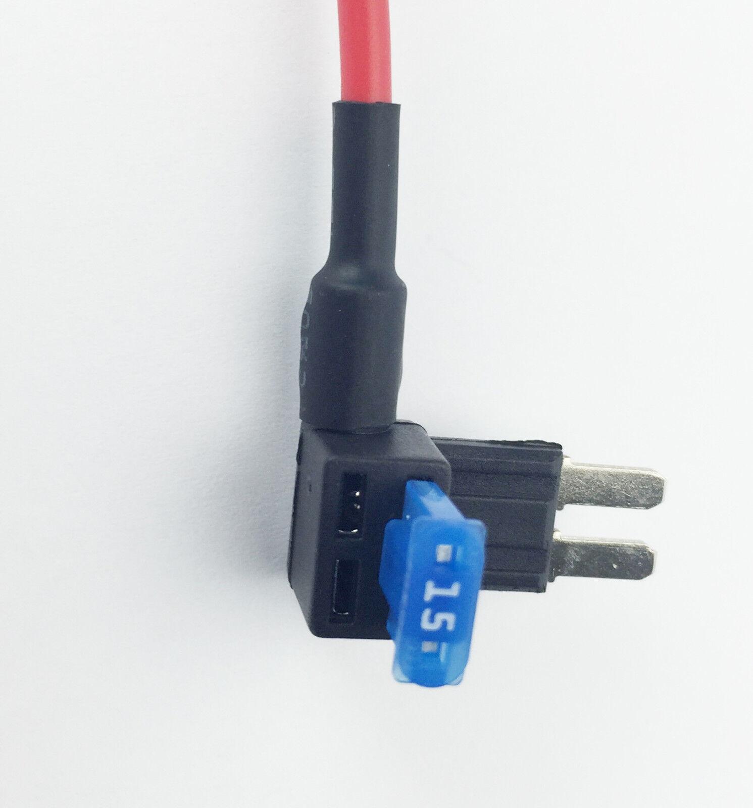 Micro2 Fuse Tap Add A Circuit Blade Atr Mini Holder 15a Addacircuit 20amp Red