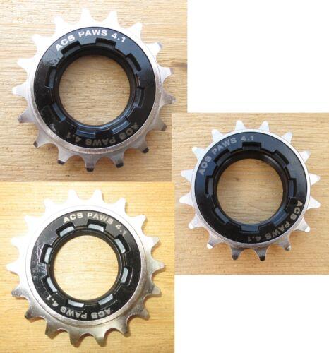 FreeWheel BMX ACS Paws Single Speed BikeGear Blk/Nickel 13-14-15-16-17-18-20-22t