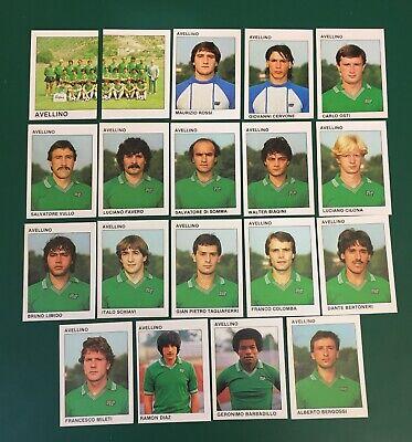 LOTTO DI 19 FIGURINE ALBUM CALCIATORI CALCIO FLASH 84 1983-84 AVELLINO COMPLETA
