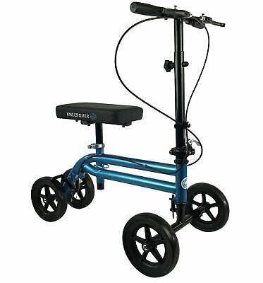 Knee Scooter Steerable Walker Crutch Medical Wheelchair Fold